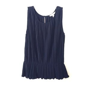 Navy Top from Banana Republic in Small
